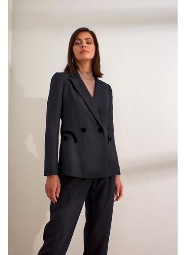 Setre  Ceket Pantolon Takım Siyah